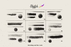 Sketch Studio Brushes for procreate Product Image 3