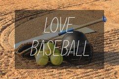 Baseball Stitch Font Product Image 4