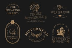 Road Race Font Family Extras Product Image 2