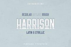 Harrison - Retro typeface Product Image 1