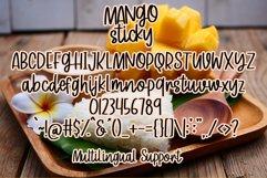 Mango Sticky - Handwritten Font Product Image 5