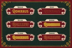 Rosvard - Vintage Layered Typeface Product Image 2