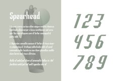 Spearhead Typeface | Font Product Image 3