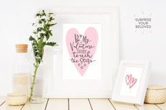 Be My Valentine, 6 letterings Product Image 4