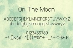 On The Moon Display Font Product Image 3