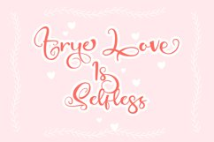 Cinchin - Lovely Script Font Product Image 4