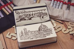 Set of Florence sketches Product Image 3