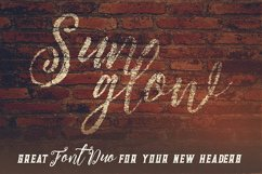 Sunglow Font Duo Product Image 4