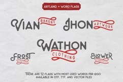 Web Font The Artland Typeface Extras Product Image 3