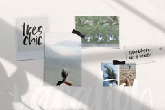 Island Tea - A Handwritten Brush Font Product Image 3