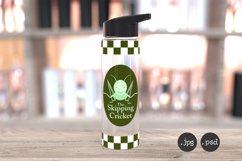 24oz clear sports water bottle mockup, PSD & jpg mockup Product Image 2
