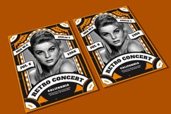 Retro Concert Flyer Product Image 1