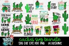 Cactus SVG Bundle Product Image 1
