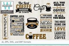 BUNDLED Coffee Cutting Files KWD057 Product Image 1