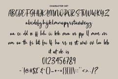 Monesstry Handwritten Script Product Image 4