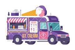 Street Food Trucks and Vans Product Image 6