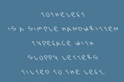 Totheleft font in ttf, otf Product Image 4