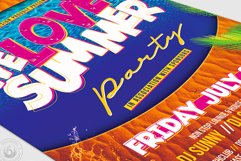 Beach Party Flyer Template V8 Product Image 6