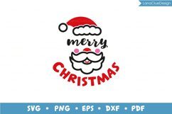 Merry Christmas - Santa and Elf - 2 items, Christmas SVG Product Image 2