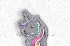 Unicorn Head Feltie Grouped Layouts Design Product Image 1