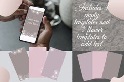Pastel Flower instagram highlight icons, trendy stories Product Image 6