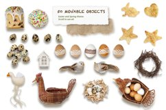 Spring & Easter Scene Creator - Top View - PNG, JPG Product Image 2