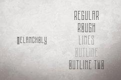 Melancholy Display Typeface Extra Product Image 2