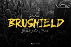 Brushield handwritten brush font Product Image 1
