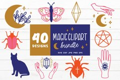 Magic Svg Bundle   Witch Svg   Witchcraft Svg Cut Files Product Image 3