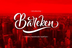 Bareken Typeface Product Image 1