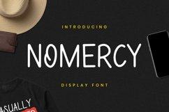 NoMeRcY Font Product Image 4