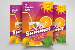 10 Summer Beach Cocktail Party Flyers Bundle Product Image 3