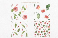 Spring florals. Watercolor floral collection. Product Image 5