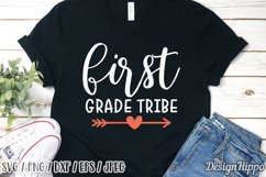 First Grade SVG, Bundle of 15 Designs, SVG DXF PNG Cut Files Product Image 6
