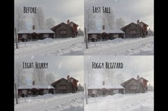 Realistic falling snow overlays Product Image 4