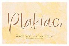 Plakias | Classy Script Product Image 1