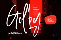 Web Font Golby - A Modern Handwritten Font Product Image 1