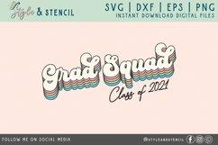 Grad Squad SVG | Graduation | Senior Product Image 2