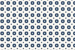 Simple Blue Geometric Patterns Product Image 2