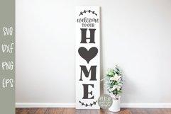 Porch Sign Mini Bundle VOL. 2 - 5 Vertical SVG Designs Product Image 3