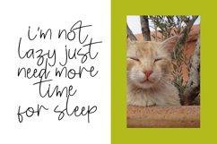 Enjoy cat font script Product Image 2
