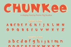 Chunkee Bold Handwritten Display Font Product Image 2