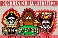 vector beer design illustration Product Image 2