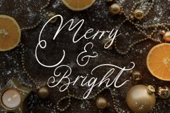 Christmas Eve. Holiday Script font. Product Image 8