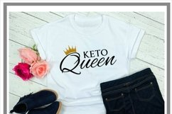 Keto Queen Keto Diet SVG Product Image 2