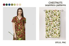 CHESTNUTS vector seamless patterns Product Image 6