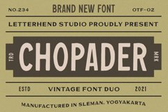 Chopader - Vintage Duo Product Image 1