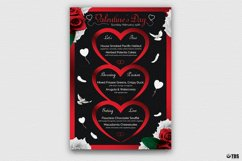 Valentines Day Menu Template V4 Product Image 2