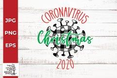 Coronavirus Christmas SVG Product Image 1