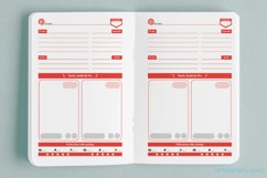 Pinterest Pins planner - KDP notebook. Product Image 2